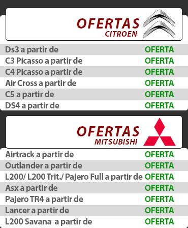 Catálogo Pneus Citroen e Mitsubishi