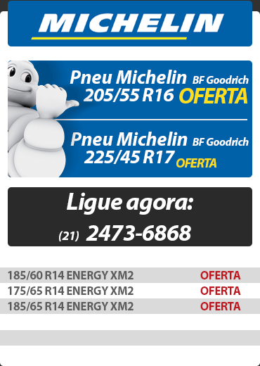 Catálogo Pneus Michelin