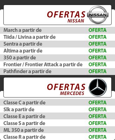 Catálogo Nissan e Mercedes