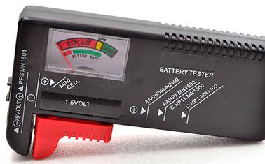 Teste de baterias