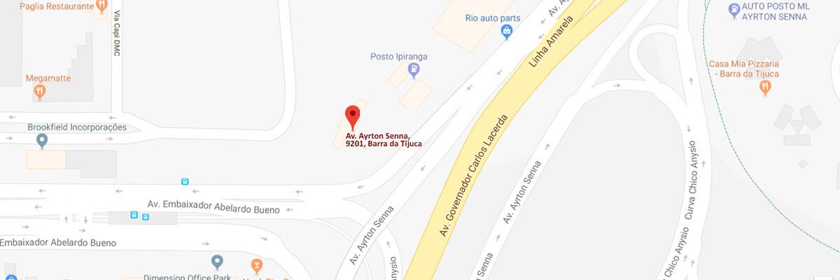 Loja Gilson Pneus na Barra da Tijuca