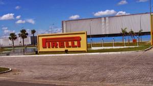 Fábrica da Pirelli no Brasil